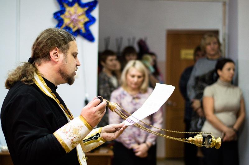 В центре прошёл праздник на Крещенский сочельник